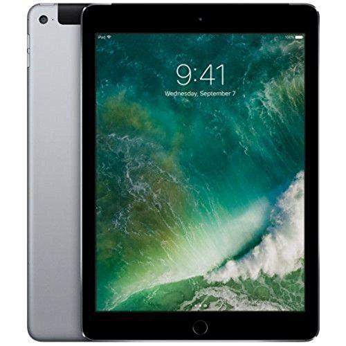 Apple iPad Air 2 ( Space Gray , 32GB , WiFi + 4G ) Factory Unlocked (Certified Refurbished)