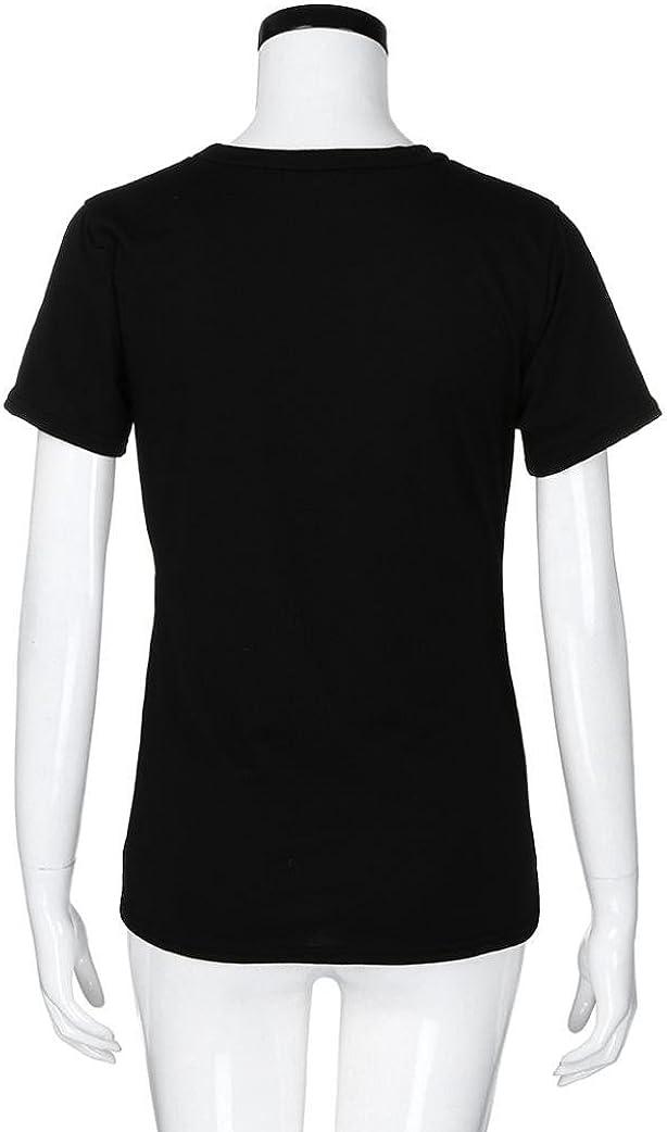 Gaddrt Novelty Baby Feet Print Womens Maternity T-Shirt Tee Shirt Short Sleeve Tops Pregnancy Maternity Shirt