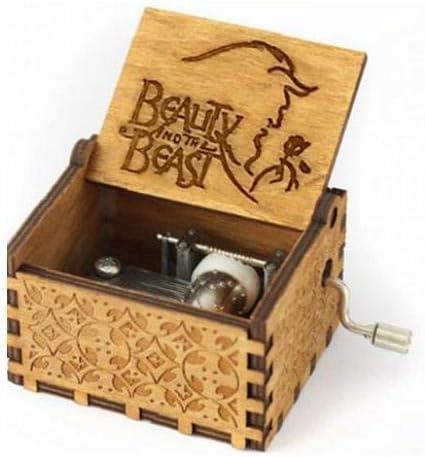 La Caja De Música De Madera Tallada Classic Musical Box Crafts ...
