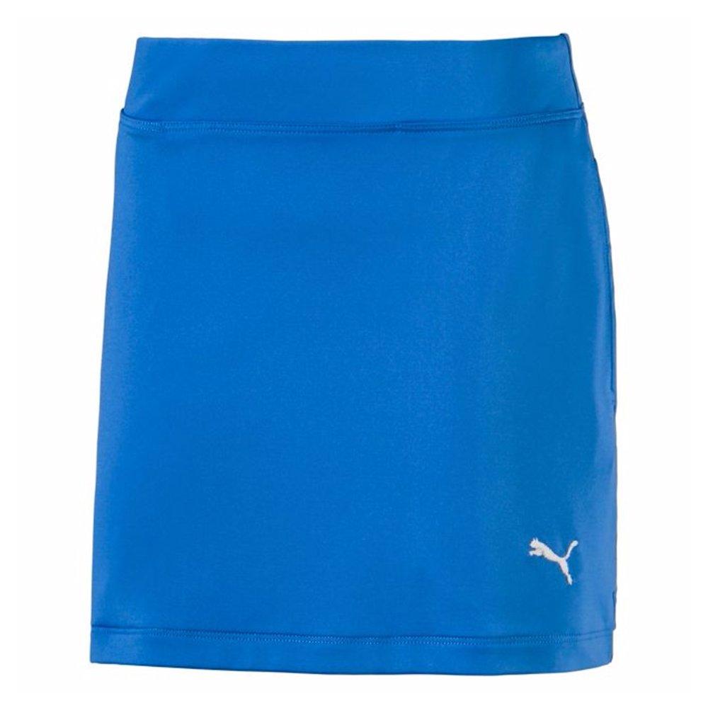 PUMA Golf Teen-Girls 2018 Solid Knit Skirt, Nebula Blue, Small