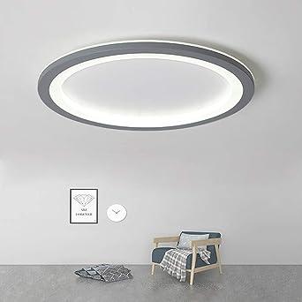 Estilo moderno llevó la luz de techo Anillo creativo Lámpara ...