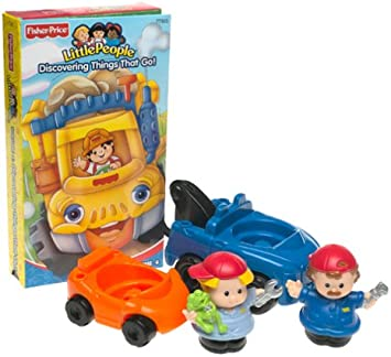 Amazon Com Little People Ramps Around Garage Toys Games