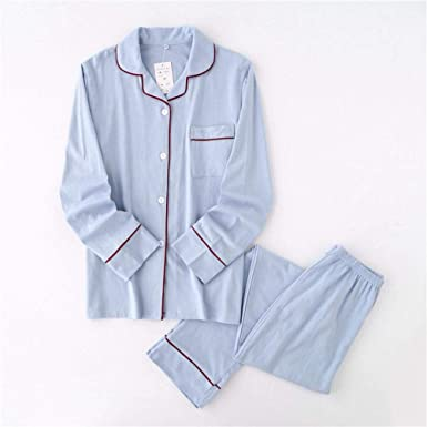 Conjunto de Pijama para Parejas Pijamas para Hombres Algodón ...