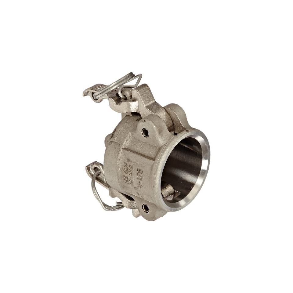 Dixon Valve RH125BL Stainless Steel 316 Boss Lock Type H Cam and Groove Fitting, Dust Cap, 1 1/4
