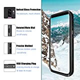 Samsung Galaxy S9 Plus Waterproof Case, Full-Body Rugged Holster Case with Built-in Screen Protector and Kickstand for Galaxy S9+ Plus (2018 Release)