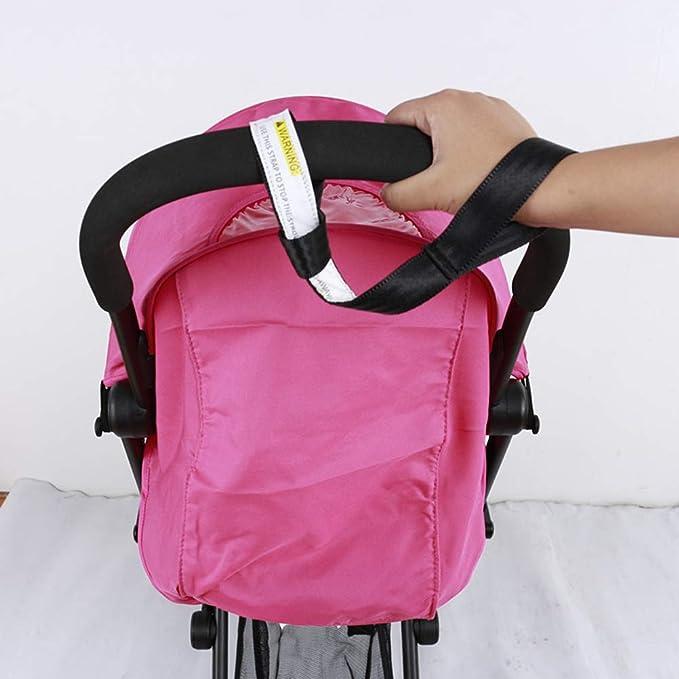 HEALIFTY Baby Stroller Strap Safety Wristband Stroller Strap Pram Wrist Strap for Stroller Pushchair Shopping Cart Black
