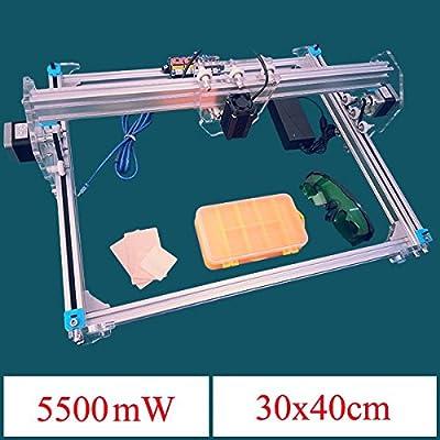 KAMOLTECH 5500mW A3 30x40cm Desktop DIY Violet Laser Engraver Picture CNC Printer Assembling Kits