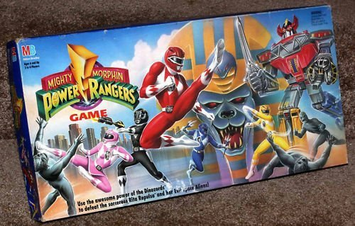 power rangers board game - 1