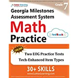 Georgia Milestones Assessment System Test Prep: 7th Grade Math Practice Workbook and Full-length Online Assessments: GMAS Study Guide