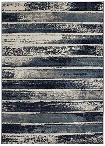 (Diagona Designs Contemporary Geometric Stripes Design Modern 8' X 10' Area Rug, 94