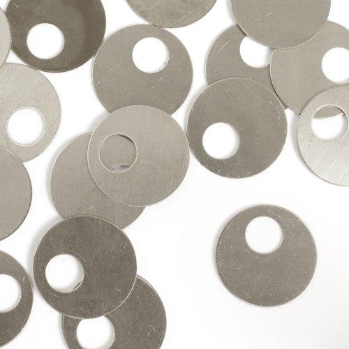 ImpressArt Nickel Silver 7//8 Stamping Blanks- 24 pc. Offset Washer