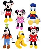 Disney Mickey Mouse Clubhouse Large Plush Set Of 6