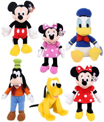 Disney Mickey Mouse Clubhouse Large Plush Set Of 6 by Just Play