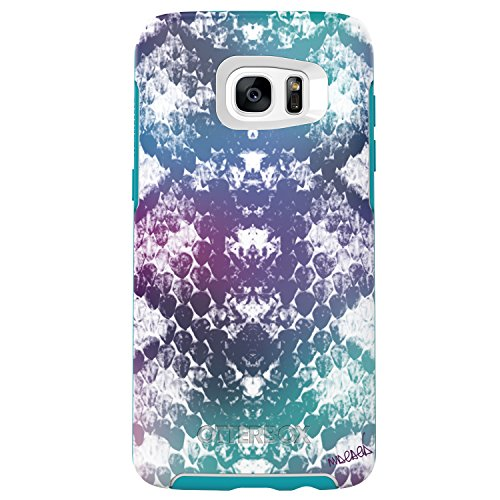 OtterBox Symmetry Series Case for Samsung Galaxy S7 Edge,  Under My Skin (Aqua Blue/Light Teal/Graphic) - Standard Packaging