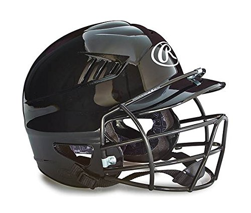 (Rawlings Youth Batting Helmet with Face Guard in)