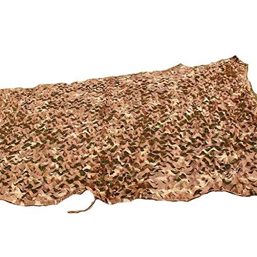 (JXYY Desert Desert Camouflage Digital Camouflage net car Sunshade net Anti-Aircraft net (Size : 23m))