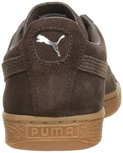Classic Suede Citi Black Coffee PUMA Fashion Sneaker Men's TqExAxOwg