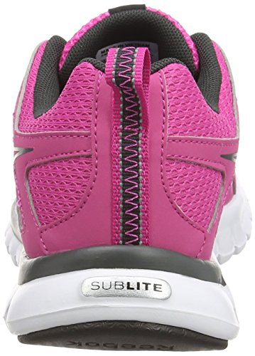 Reebok Sublite Escape MT, Chaussures de Running Entrainement Femme Rose (Charged Pink/Gravel/Black/White)
