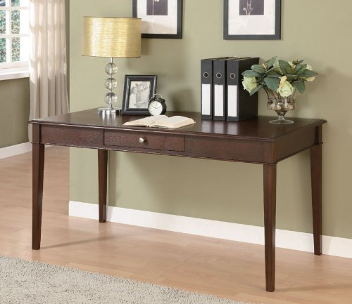 Classic Espresso Finish Home Office Desk by Coaster Furniture