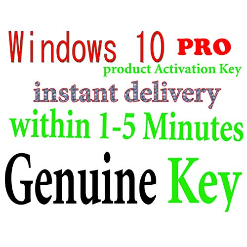 Price comparison product image GENUINE Windws 10 Professional Product Key 64 Bit License Win Pro Key Code