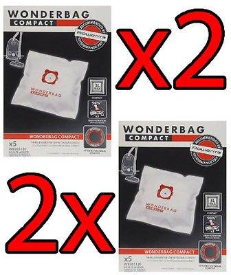 Rowenta 2 x Wonderbag Compact 10pz wb305120 bolsas bolsas ...