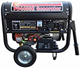 10000 watt portable generator - Powerland PD4400E 4.4 KW Portable Gas Generator 7.5 HP ELECTRIC Start Quiet 4 RV