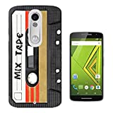 1082 - Cool Fun Mix Tape Cassette Player Retro Music Dance Hip Hop RnB Boom Box Design Motorola Moto X Play Fashion Trend CASE Gel Rubber Silicone All Edges Protection Case Cover
