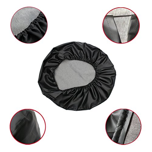 ROCCS 16 Jeep Wrangler Spare Tire Cover 29-31 Black Wheel Tire Covers with American Flag Print for Cars Trailer Honda Toyota SUV Camper R16 1PC
