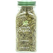 Simply Organic Rosemary Leaf Whole Certified Organic, 1.23-Ounce Container