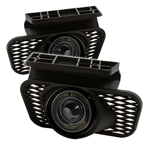 IPCW CWF-337S2 Chevy Avalanche/Silverado Smoke Replacement Projector Fog Light with Angel Eye