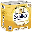 Scottex Sensitive Papel Higiénico - 18 rollos