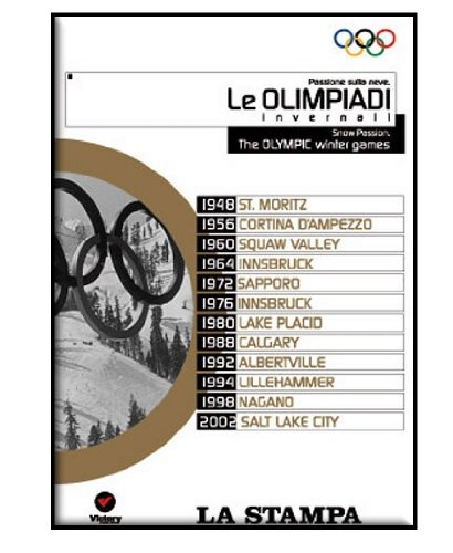 Olympic Winter Games 1948 - 2002 [DVD] [Box-Set]1948 St. Moritz , 1956-cortina D' Ampezzo , 1960 Squaw Valley , 1964 Innsbruck , 1972 Sapporo , 1976-innsbruck 1980 , Lake Placid , 1988-calgary , 1992 Albertville , 1994 Lillehammer , 1998 Nagano , 2002-salt Lake City (Lake Placid Winter Olympics)