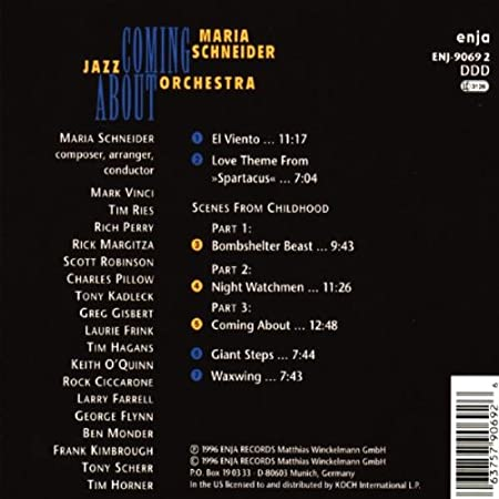 Maria Schneider - Coming About - Amazon.com Music