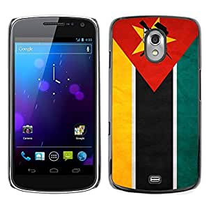 Shell-Star ( National Flag Series-Mozambique ) Snap On Hard Protective Case For SAMSUNG Google NEXUS / I9250