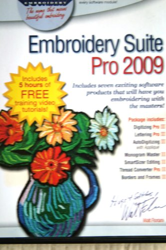 Embroidery Suite (Floriani Embroidery Software)