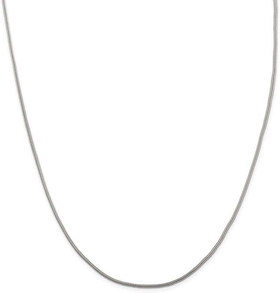 Black Bow Jewelry NCAA Sterling Silver Indiana U Dog Tag Pendant Necklace 24 Inch