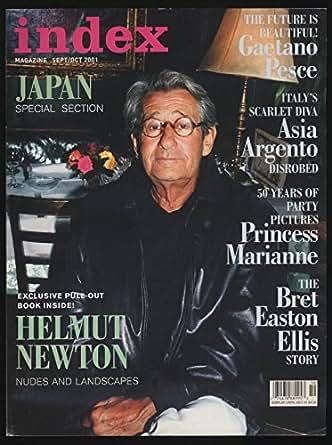 Helmut Newton Signed Print