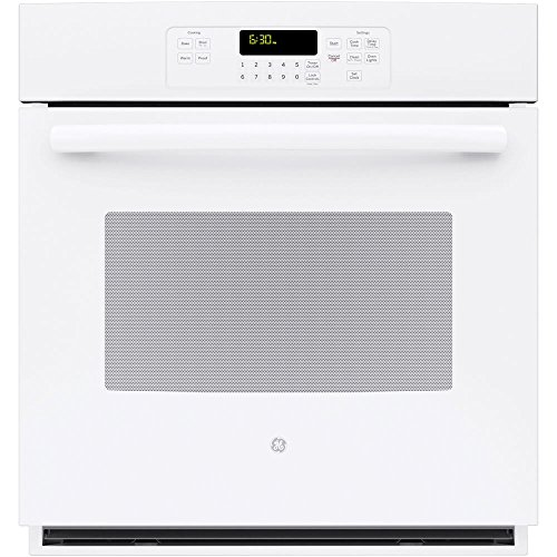 GE JK3000DFWW 27″ White Electric Single Wall Oven