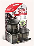 Coffee Pods & K-Cups 3X Reusable Coffee Pods Handy Gourmet Stainless Steel Mesh Filter Non BPA Kcup