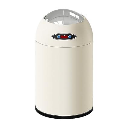 MILAYA JI Bin Shop® Cubo De Basura Automático Sensor De Basura Automático Cubo De Basura