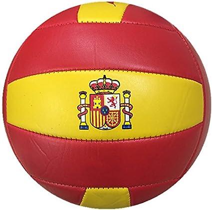 Durabol Balón de Voleibol España Color Amarillo-Rojo, Volly Ball ...