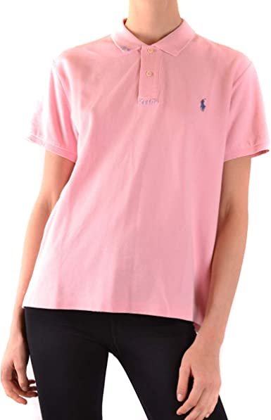 Polo Ralph Lauren Polo Donna Mod. 211-744518 Rosa L: Amazon.es ...