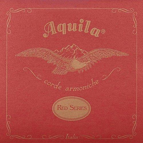 Aquila 77U RED SERIES, Ukulele CONCERT High-G/Low-G Tuning – C3 (unwound)