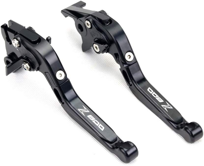 Color : Black Anhuidsb CNC pliant en aluminium r/églable Levier dembrayage Extensible frein for Kawasaki Z800 Z800E 2013 2014 2015 2016