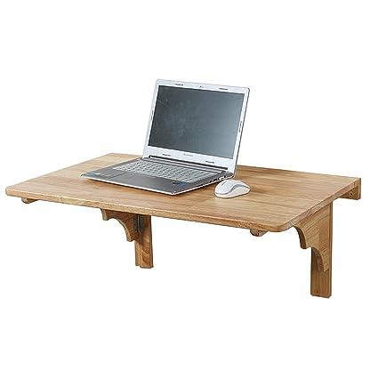 Mesa Plegable para Ordenador portátil de Pared Mesa Plegable para Espacios pequeños Mesa Consola para Oficina