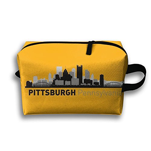 HOT Pittsburgh Pennsylvania Toiletry Bag Multifunction Cosmetic Bag Portable Makeup Pouch Waterproof Travel - Pittsburgh Shopping In Pennsylvania