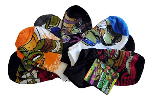 ninja turtle boys socks - 9
