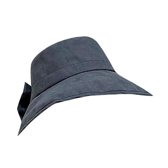 TWIFER Sombrero de Pescador para Mujer Sombrero de Playa ...