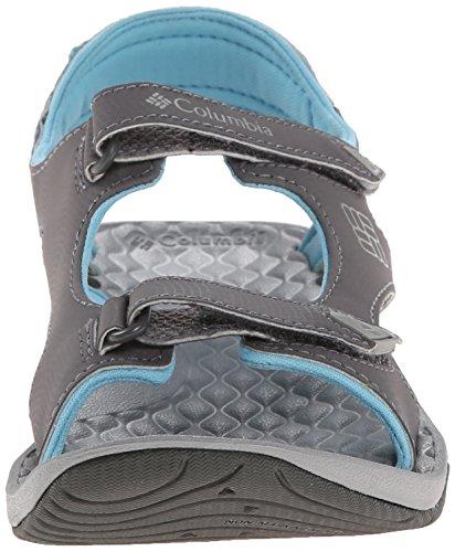 Columbia Womens Sunbreeze Sfregamento Sandalo Con Due Cinturini In Scia Di Columbia