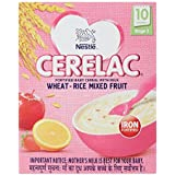 Nestlé CERELAC Infant Cereal Stage-3 (10 Months-24 Months) Wheat-Rice Mixed Fruit 300g